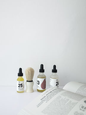 25 Beard Oil | Black Spruce + Black Pepper