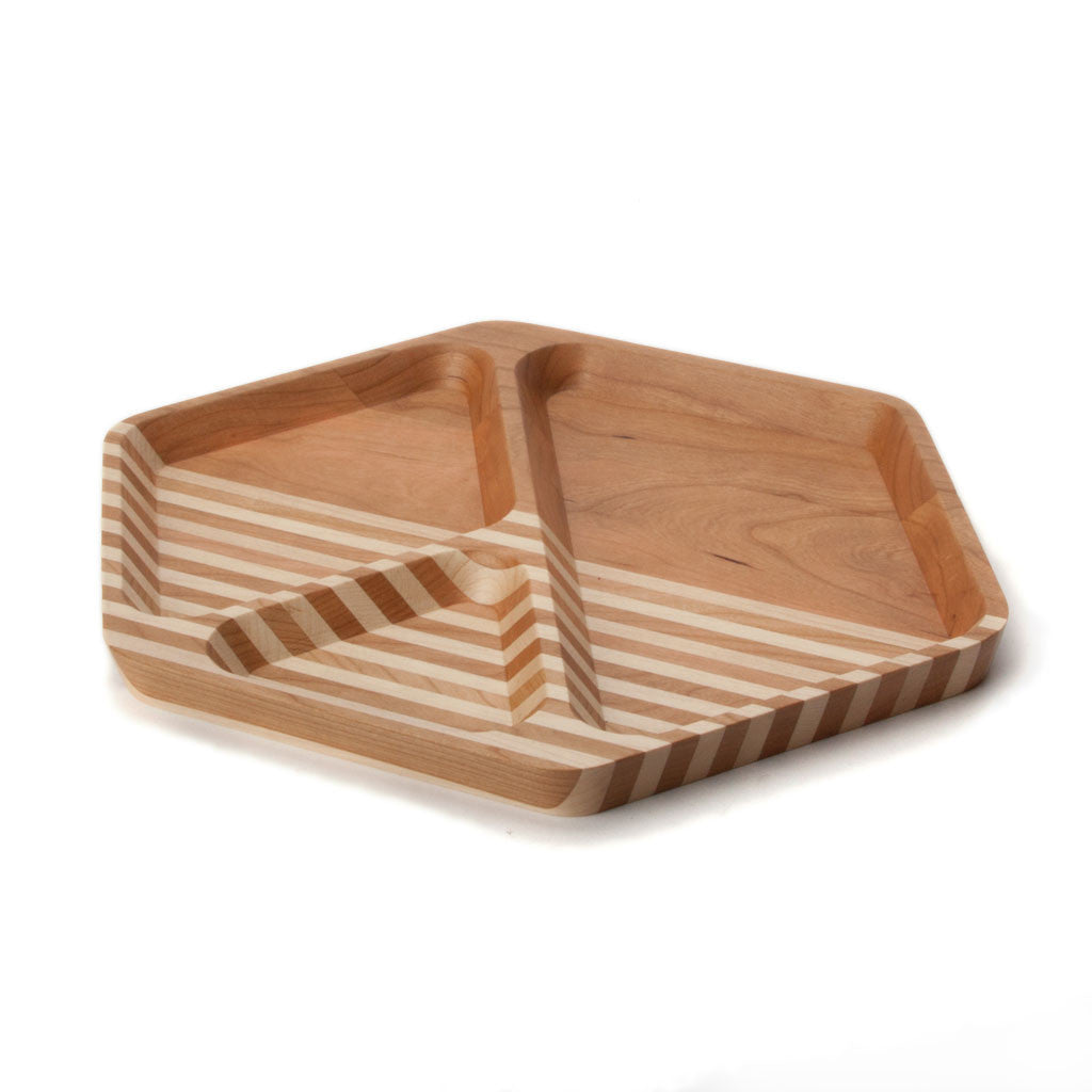 Large Hexagonal Tray - Cherry - Langsom