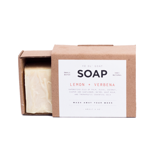 Ye Ol' Goat Soap - Lemon and Verbena - Langsom