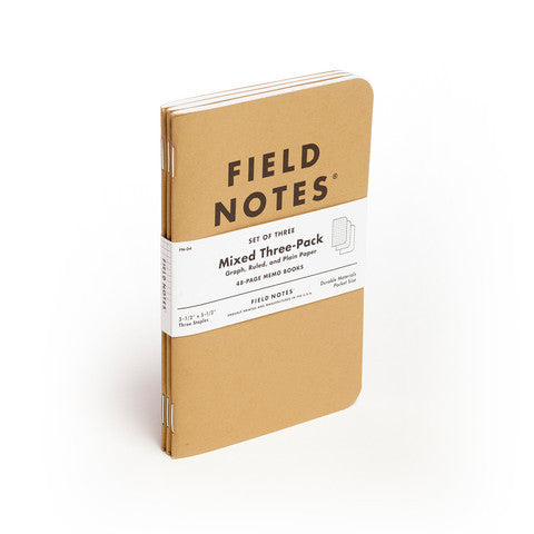 Field Notes Original Kraft - 3 Pack - Langsom