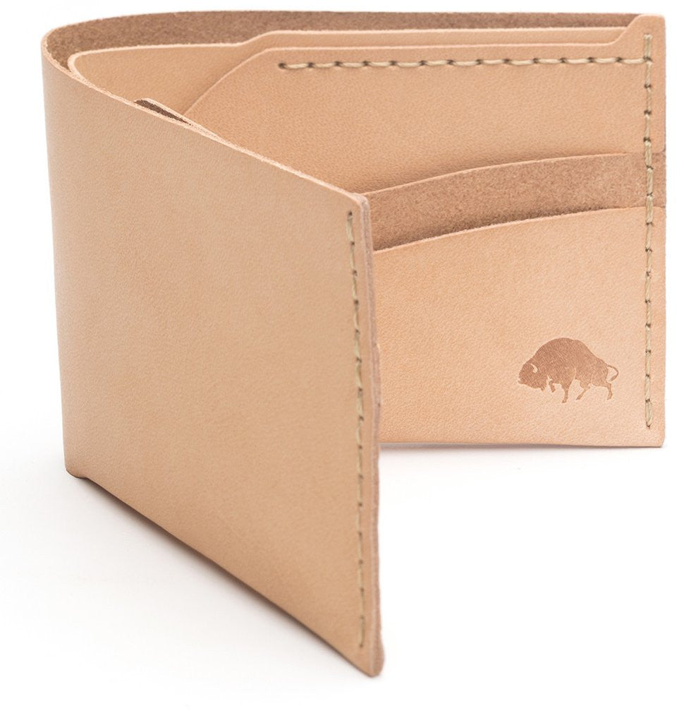 No. 6 Wallet - Natural