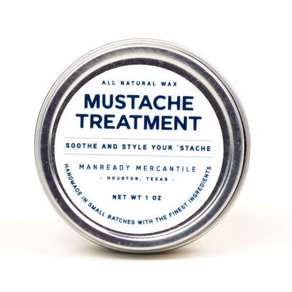 Mustache Treatment - Langsom