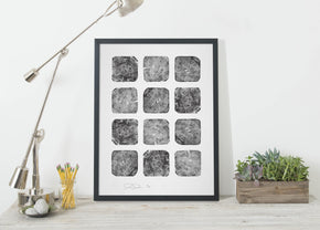 The Woods No. 1 Print - Langsom