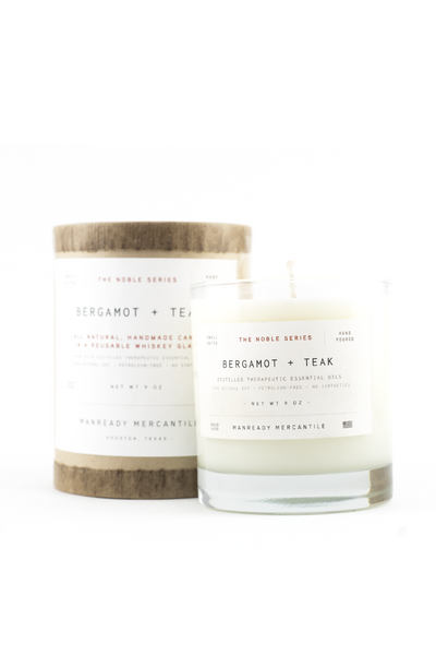 Noble Series Candle - Bergamot and Teak - Langsom