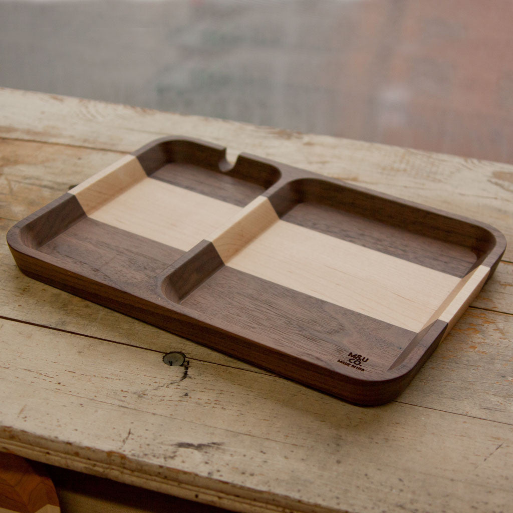 Rectangular Valet Tray - Walnut - Langsom