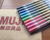 MUJI Moma Gel Ink Pens - 0.38mm or 0.5mm, Choice of Colors