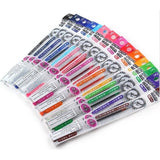 Pilot Hi-Tec-C Coleto Multi Pen gel pen refill, 15 colors Bundle