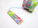 "Washi Tape SAMPLE 40"" Floral abstract pattern Japanese Masking Tape (1m/1 yard), Buy 3 Get 1 FREE!"