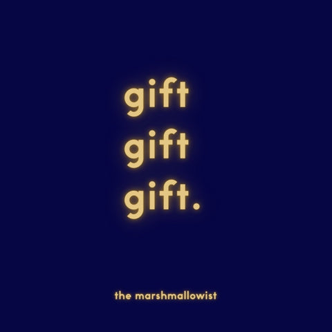 the marshmallowist e-gift card