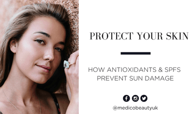 Protect Your Skin: How Antioxidants & SPFs Prevent & Reduce Sun Damage