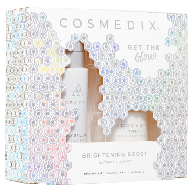 Brightening Holiday Kit - LIMITED EDITION Travel Kits Cosmedix