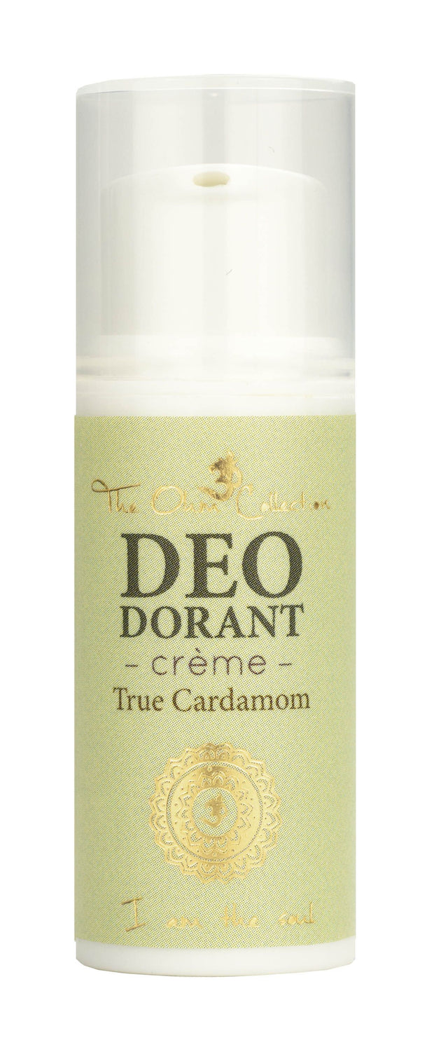 Cream Deodorant 5 ml - True Cardamom - The Ohm Collection Deodorant The Ohm Collection