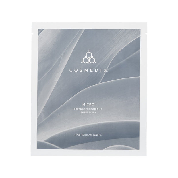 Micro Defence Microbiome Sheet Mask (5 foil sachets) - CosMedix Mask Cosmedix
