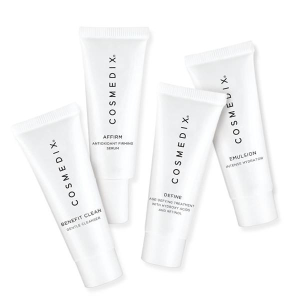 Normal Skin 4-Piece Essential Kit - CosMedix Travel Kits Cosmedix