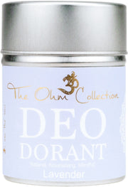Powder Deodorant 120g - Lavender - The Ohm Collection Deodorant The Ohm Collection
