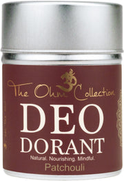 Powder Deodorant 120g - Patchouli - The Ohm Collection Deodorant The Ohm Collection