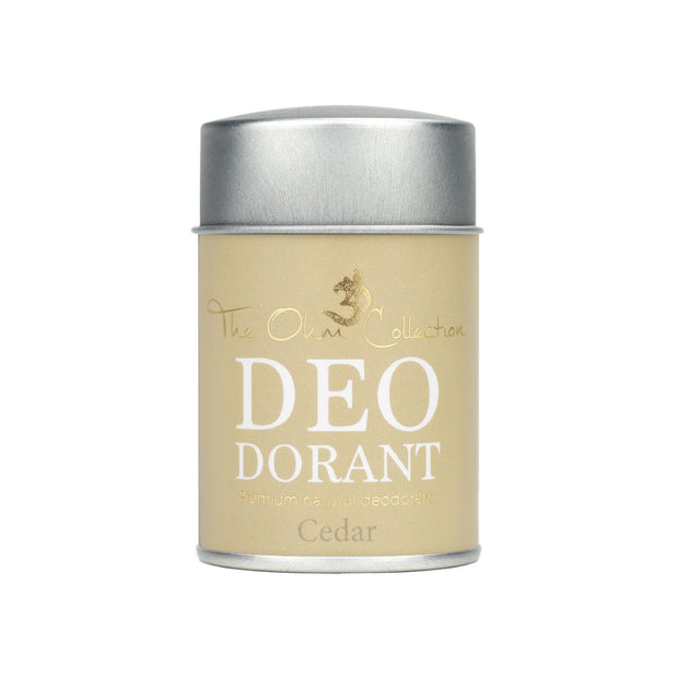 Powder Deodorant 50g - Cedar - The Ohm Collection Deodorant The Ohm Collection