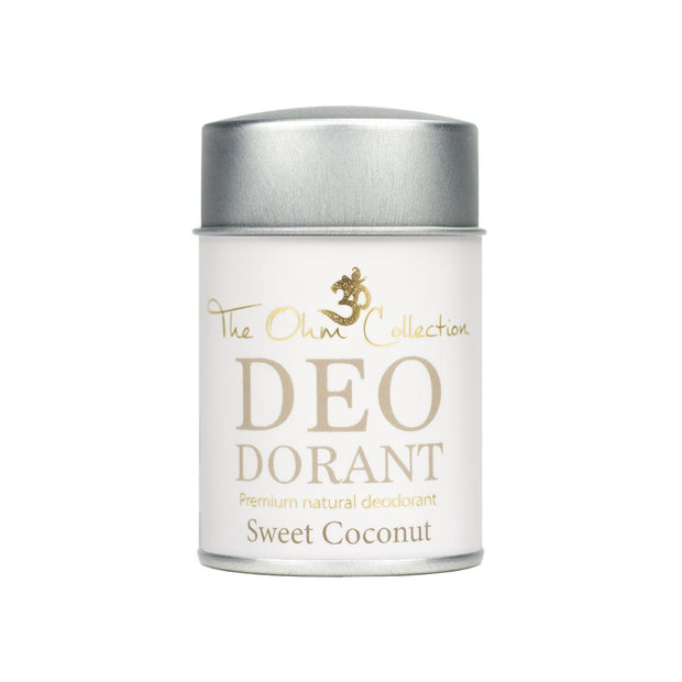 Powder Deodorant 50g - Coconut - The Ohm Collection Deodorant The Ohm Collection