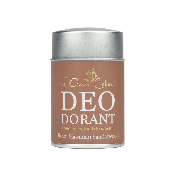 Powder Deodorant 50g - Sandalwood - The Ohm Collection Deodorant The Ohm Collection