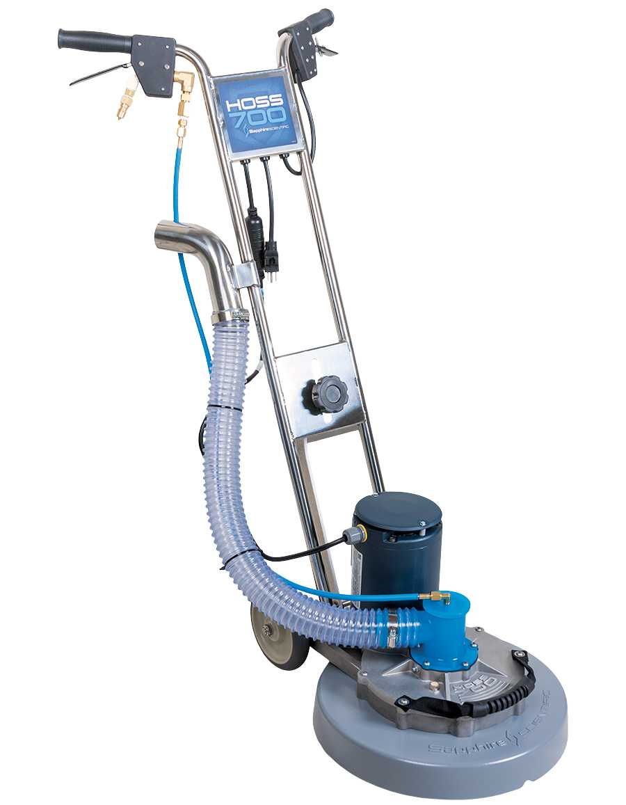 Truck mount users alert: the new Sapphire Hoss Rotary Carpet Tool from Prochem will save you hours of time