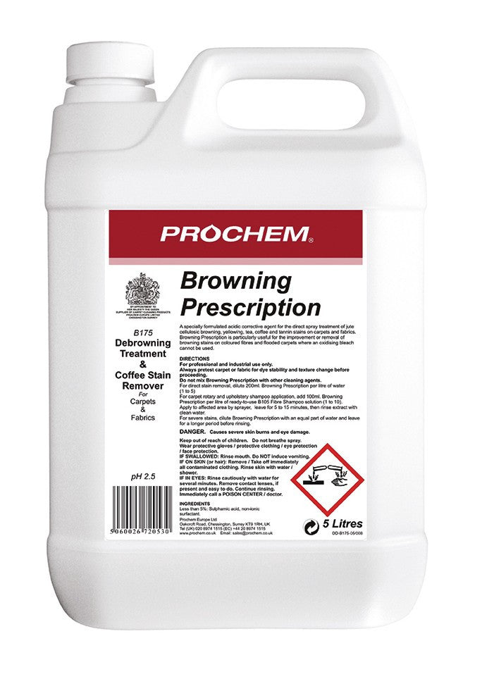 Prochem B175-05 Browning Prescription  5L