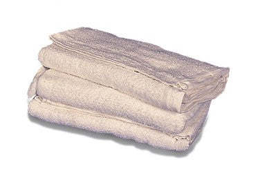 Prochem BA3401 White terry towels for spot cleaning upholstery & carpets