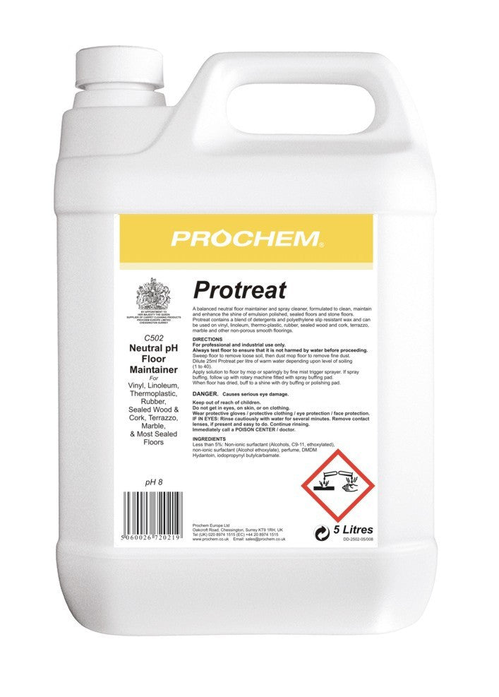 Prochem C502-05 Protreat 5 Litre