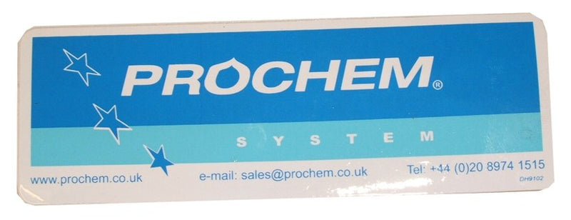 Prochem System decal DH9102