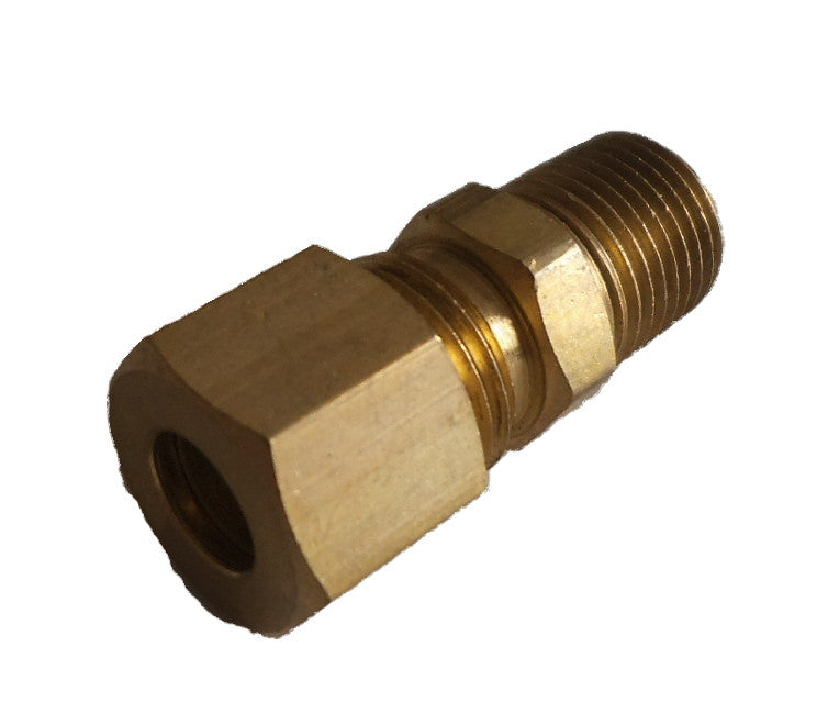 Prochem Bushing, brass 1/4C - 1/8MP E00125