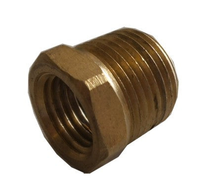 Prochem Brass bush 3/8M - 1/4F E00168