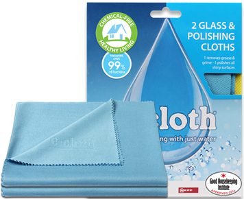 e-cloth GC2 Glass & Polishing Cloth (2-pack)