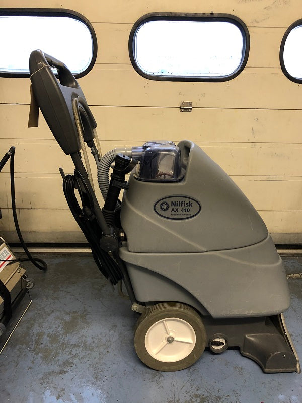 Nilfisk AX410 Carpet and Floor Cleaner Pull Along Refurbished