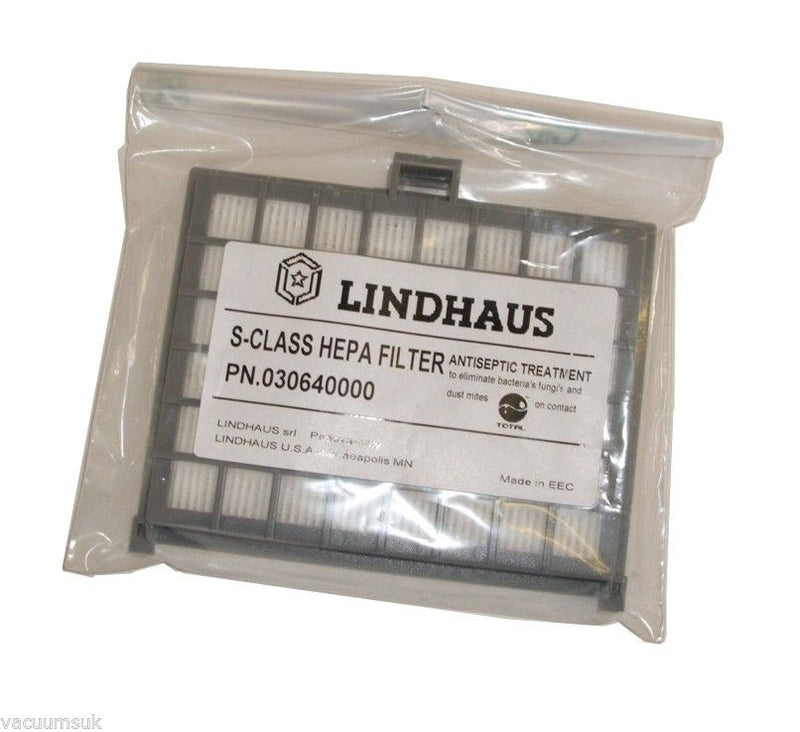 Lindhaus S Class Hepa Filter LH3304 for Dynamic Vacuum Cleaner 380E LH3304