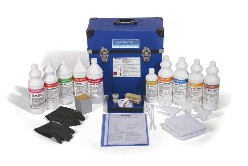Prochem PR3401 PSK Professional Spotting Kit for carpets & fabrics