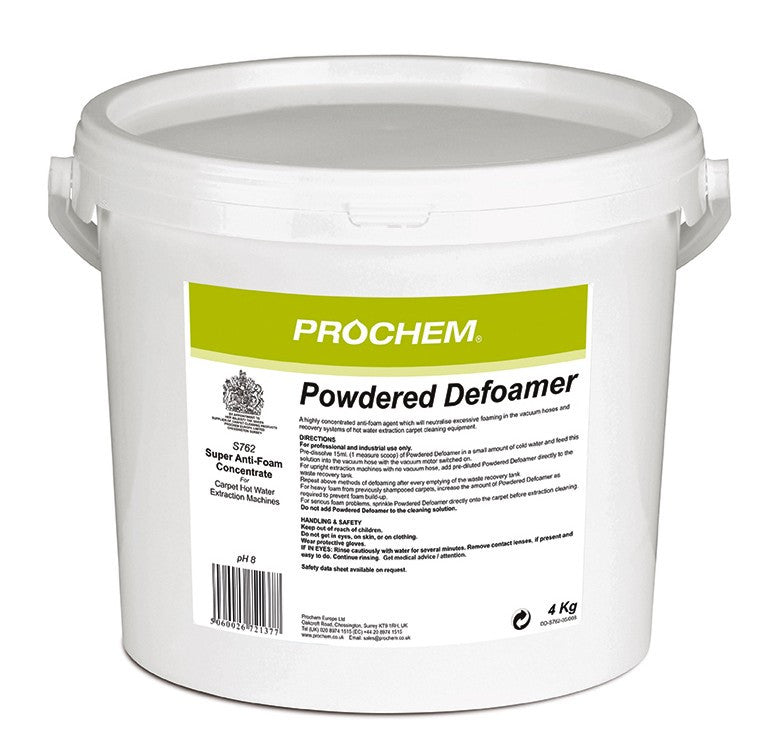 Prochem S762-02 Powdered Defoamer  4kg