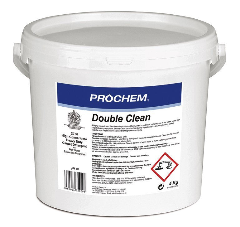 Prochem S776-04 Double Clean 4kg x 2 MULTIBUY