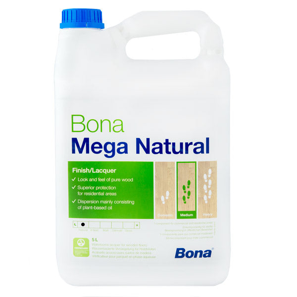 Bona Mega Natural 5L WT182820001