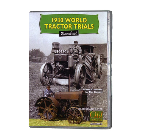 1930 Tractor Trials (DVD 088)