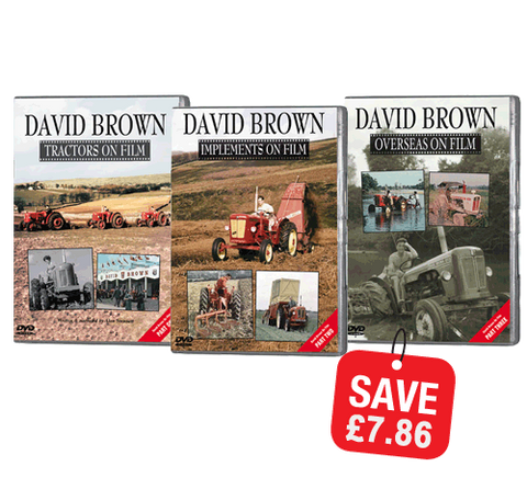 Bundle - David Brown on Film series (DVD301)