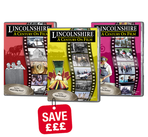 Bundle - Lincolnshire a Century on Film 4,5 and 6 (DVD)