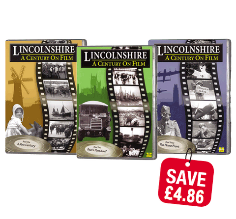 Bundle - Lincolnshire a Century on Film 1, 2 and 3 (DVD)