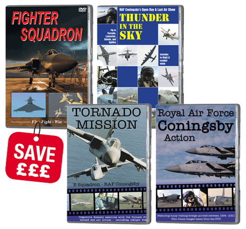 Bundle - RAF Coningsby Collection (DVD)