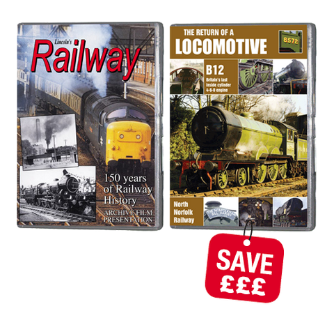 Bundle - Lincoln Railway and B12 Locomotive (DVD)