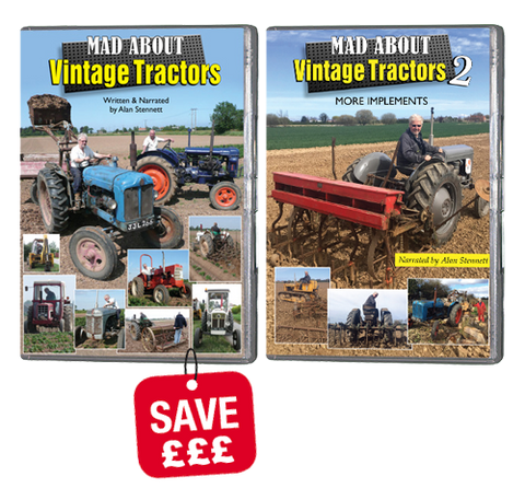 Bundle - Mad About Vintage Tractors 1 & 2 (DVD305)