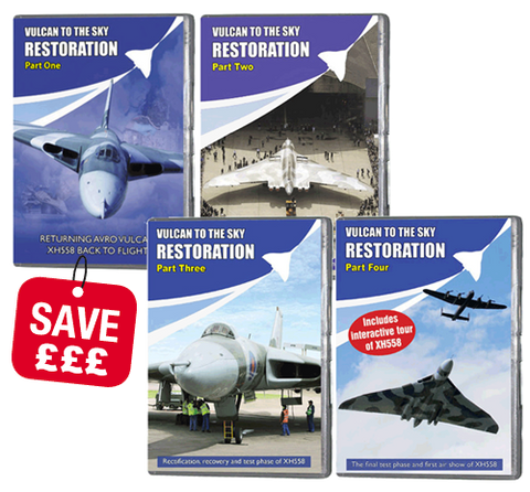 Bundle - Vulcan Restoration 1,2,3 and 4 (DVD 345)
