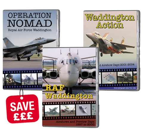 Bundle - RAF Waddington flying (DVD)