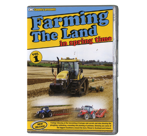 Farming the Land in Springtime 1 (DVD 488)