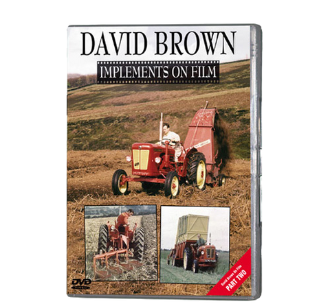 David Brown - Implements on Film (DVD 068)