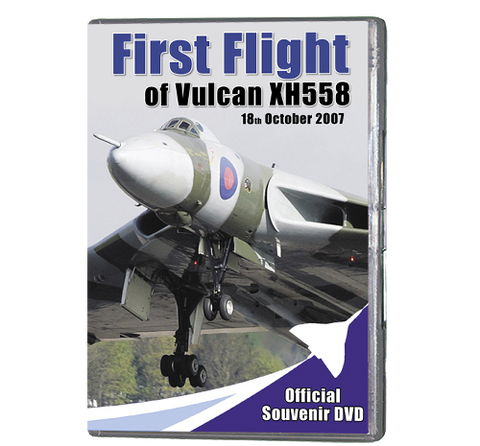 First Flight of Vulcan XH558 (DVD 097)