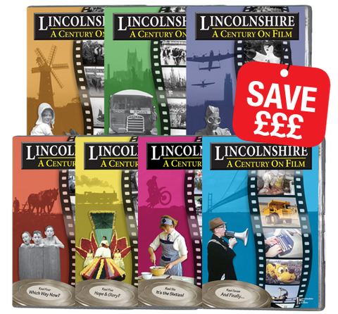 Bundle - Lincolnshire A Century on Film Collection (DVD 304)